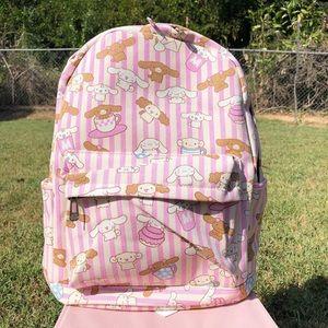 Kawaii Sanrio Cinnamoroll Medium Backpack Pink